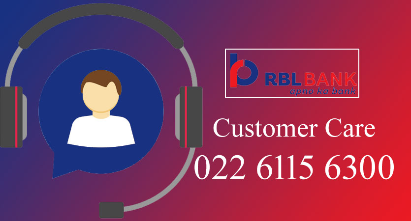 RBL Customer Care Numbers